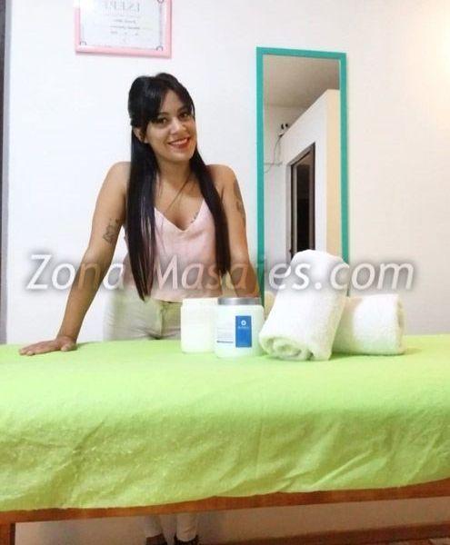 🌺Masajista Sensual🌺  Te ofrezco una sesión de masaje:  relajante sensitivo 👉Trabajo sobre camilla